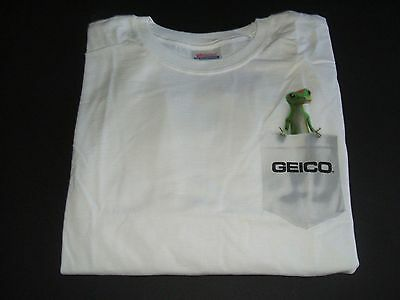 NEW GREAT LOOKING GEICO GECKO  T-SHIRT - XL