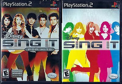Disney Sing It: Pop Hits(Sony PlayStation 2)&Disney Sing It (Sony PlayStation 2)