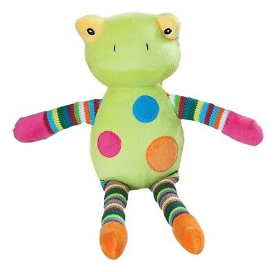 "FROG soft toy plush babysafe toy CLYDE -13""/33cm BLOSSOM & BUDS NEW"