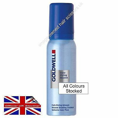 Goldwell Colorance Styling Mousse Hair Colour Mousse 75ml All Colours Stocked