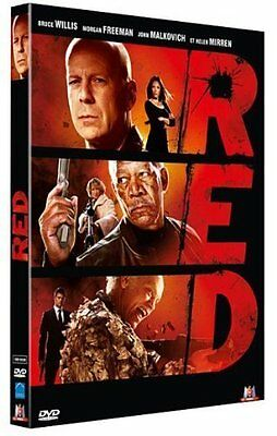 DVD *** RED *** avec Bruce Willis, Morgan Freeman ...