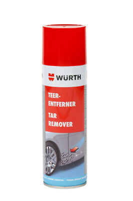 WÜRTH Pitch Remover Tar remover 300ml Strong Loesevermoegen
