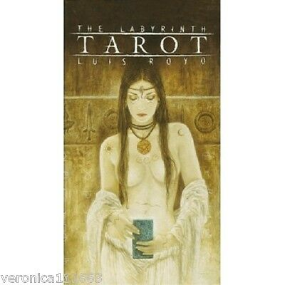 Labyrinth Tarot NEW Sealed 78 Color Cards Deck Pagan Astrology Symbol Divination