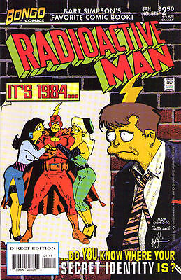 RADIOACTIVE MAN #575 - The Simpsons - Back Issue