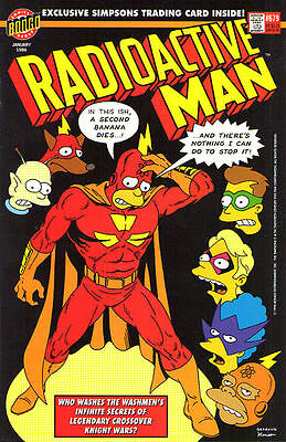 RADIOACTIVE MAN #679 - The Simpsons - Back Issue