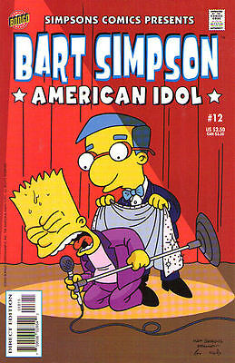 BART SIMPSON #12 - Back Issue