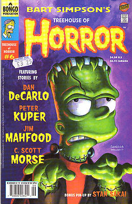 SIMPSONS Treehouse of Horror #6 - Back Issue