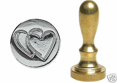 Love Hearts Mini Stamp Seal For Sealing Wax Wedding Anniversary Invitation