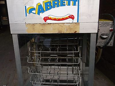 118RES59 USED HOT DOG MACHINE WITH BUN WARMER COMMERCIAL  UNIT