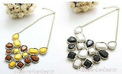 New Arrived 1pcs Fashion Women Resin  Bib Necklace A1085