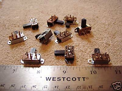 LOT OF  ON/ON SLIDE SWITCHES! S