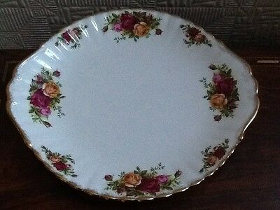 Royal Albert Old Country Roses Large Eared Cake Plate