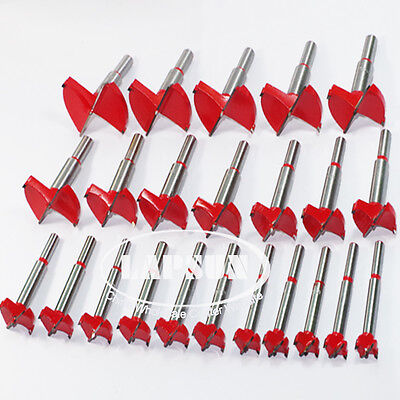 15mm-60mm TCT Wood Hinge Boring Hole Saw Drill Bit Set Cutter Auger Carbide Kit