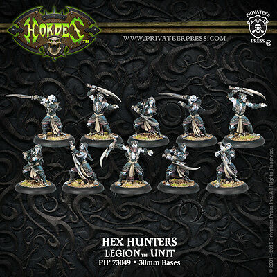 Warmachine Hordes BNIB - Legion of Everblight Nyss Hex Hunters (10)