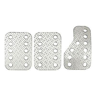 Sparco Pre-Curved Anodised Aluminium Pedal Extensions In Silver - Show/Track