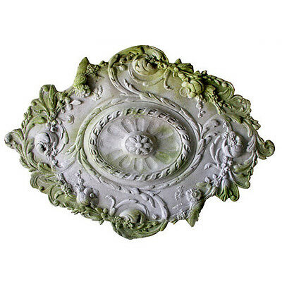 Architectural Medallion Wall Art Sculpture Relief Plaque-Ok for Outdoors FS7574