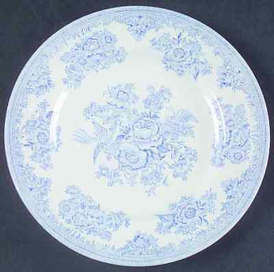 Burgess & Leigh ASIATIC PHEASANTS BLUE Dessert Pie Plate 42877