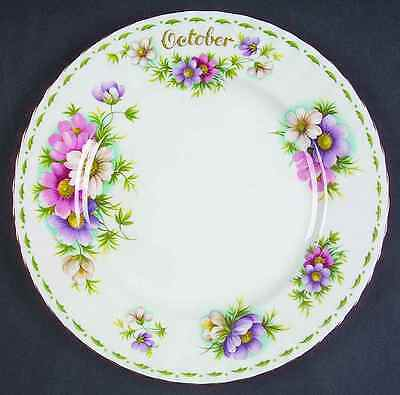 Royal Albert FLOWER OF THE MONTH October Salad Plate