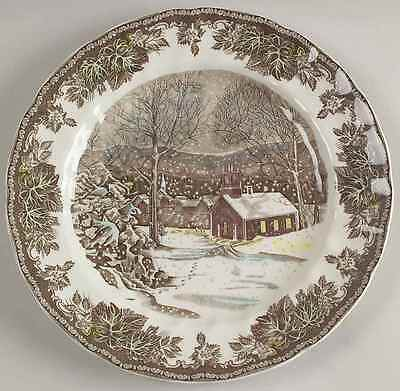 Johnson Bros THE FRIENDLY VILLAGE School House Dinner Plate (Imperfect) 8599209