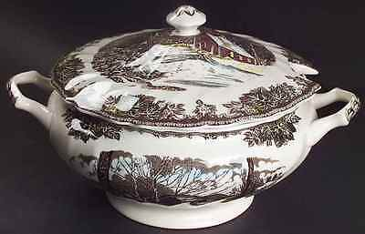 Johnson Brothers THE FRIENDLY VILLAGE (MADE IN CHINA) Tureen (Imperfect) 7660541