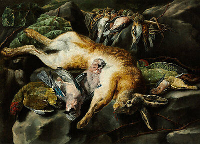 Bagged Hare and Game-Fowl Jan Fyt B A3 00153