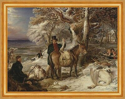 The Days Sport James Ward Pferde Jäger Jagen Hunde Kinder Wald Beute B A3 00156