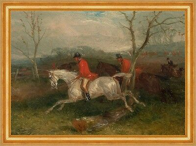 Foxhunting: Coming to a Fence William J. Shayer Reiter B A3 00168
