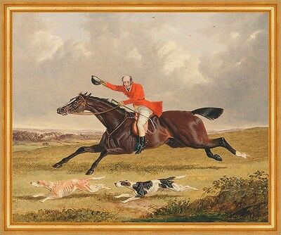 Foxhunting: Encouraging Hounds John Frederick Herring Reiter Jagd B A2 00160