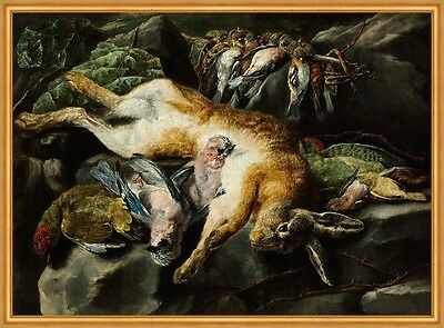 Bagged Hare and Game-Fowl Jan Fyt B A1 00153