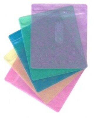 2000 CD Double-sided Plastic Sleeve Assorted Color