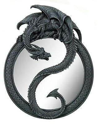 Medieval Dragon Wall Mirror Home Decor Decorative.Game Room.Man Cave.Cool