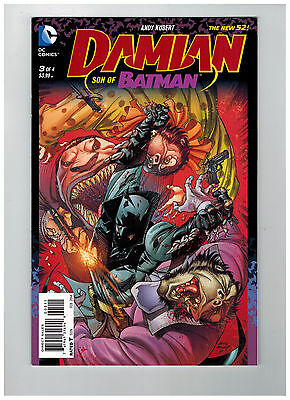DAMIAN: SON OF BATMAN #3  1st Printing - The New 52!            / 2014 DC Comics