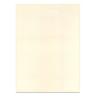 100 x A4 SHEETS OF SMOOTH THICK IVORY CREAM - QUALITY PRINTER CRAFT CARD 300gsm