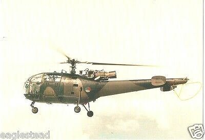 Helicopter Postcard - Alouette III  (P2502)
