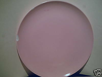 """Taylor Smith Pebbleford 10"""" Pink Dinner Plate"""