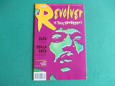 Revolver , Is This Tomorrow - 1990 comic Issue 3 ,(2000 AD Comics group)