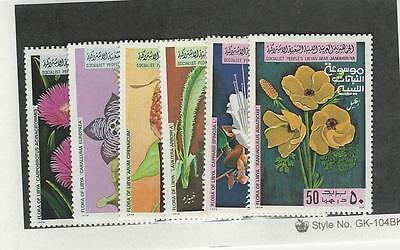 Libya, Postage Stamp, #779-784 Mint NH, 1979 Flowers