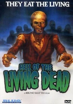 *Hell of The Living Dead DVD Margie Newton in GOOD CONDITION