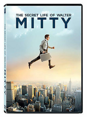 The Secret Life of Walter Mitty (DVD, 2014)