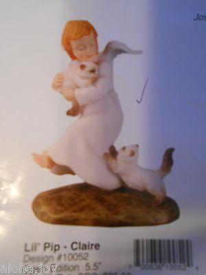Pipka Lil' Pip Claire Angel with Kittens 10052- LAST ONE!