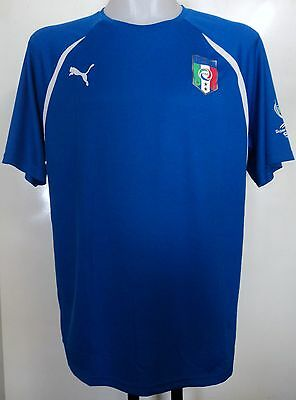 Italy Superclasse Cup Home Shirt By Puma Adults Size Large Brand New With Tags