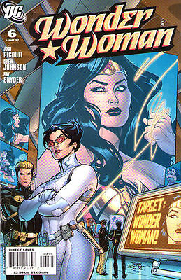 WONDER WOMAN #6 (2007) - Back Issue