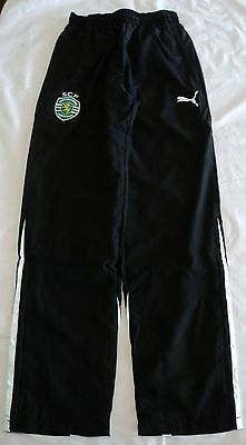 Sporting Lisbon 2012/13 Woven Pants By Puma Size Large Brand New With Tags