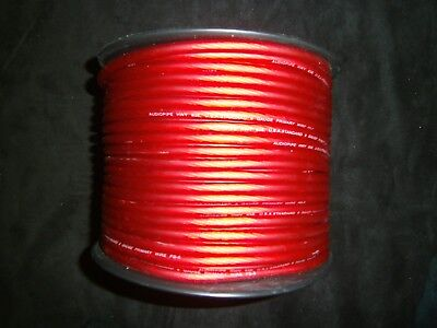 8 Gauge Wire 50 Ft Awg Cable Red Super Flexible Primary Stranded Power Ground