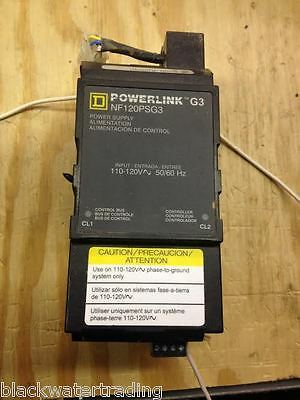 Square D Powerlink G3 NF120PSG3 Power Supply