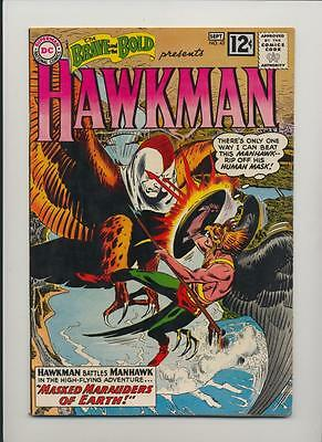 Brave and the Bold #43 (1962) Fine+ / Very Fine (7.0) ~ Hawkman by Kubert