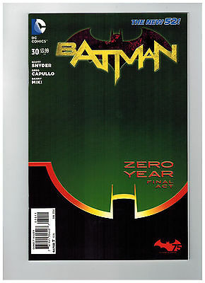 BATMAN #30  1st Printing - Zero Year - The New 52!              / 2014 DC Comics