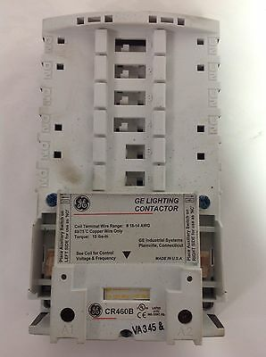 General Electric * Lighting Contactor Base * Cr460B *jh*