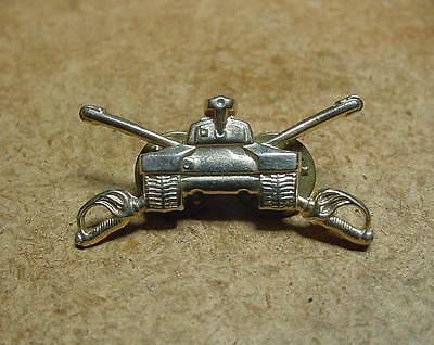"""US Army Officer Armored Cavalry Collar Insignia Badge Pin 1 1/2"""" Size"""