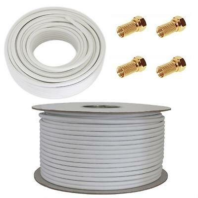 Different Satellite Coaxial Cable - 25/50/100m / 120dB, 130dB, 135dB ; DIGITAL